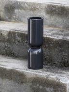 Elio Ceramic Vase Black
