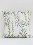 Spinney designer brown embroidered cushion cover