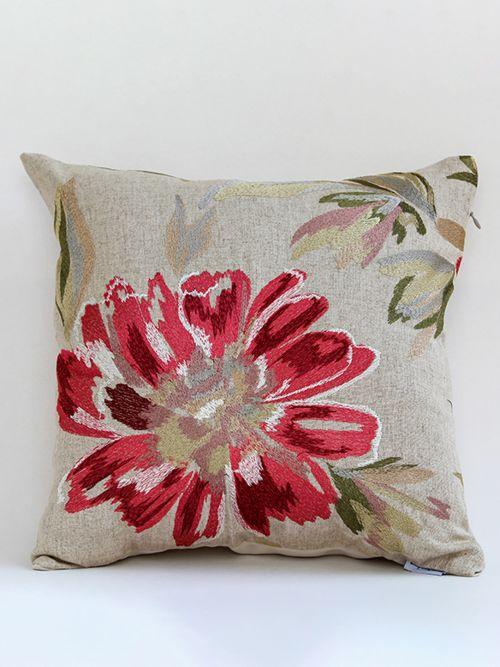 Embrodered Floret Set Of Designer Cushion Covers