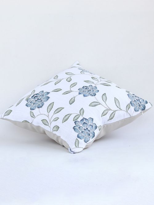 Serenely Embroidered Cushion Covers - Cotton