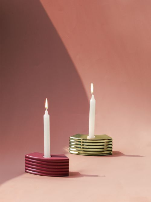 Ceramic Circum Candle Holders
