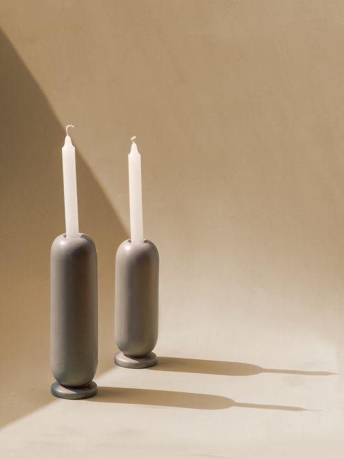 Ceramic Lux Candle Holders