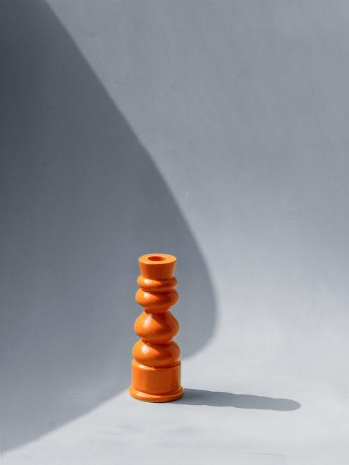 Ceramic Meraki Candle Stand
