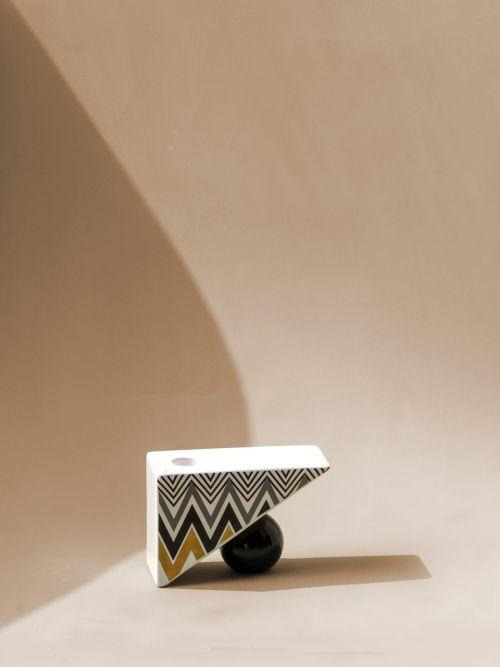 Ceramic Meridiem Candle Holder