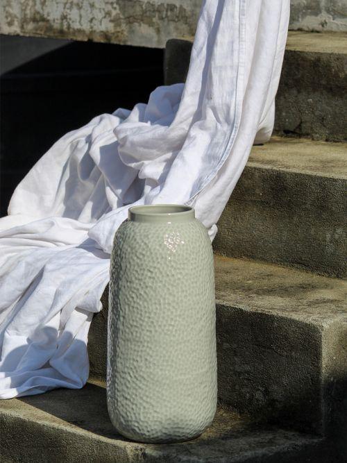 Morbo Ceramic Vase Grey