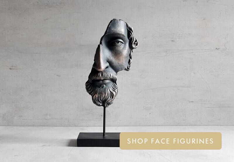 face figurines
